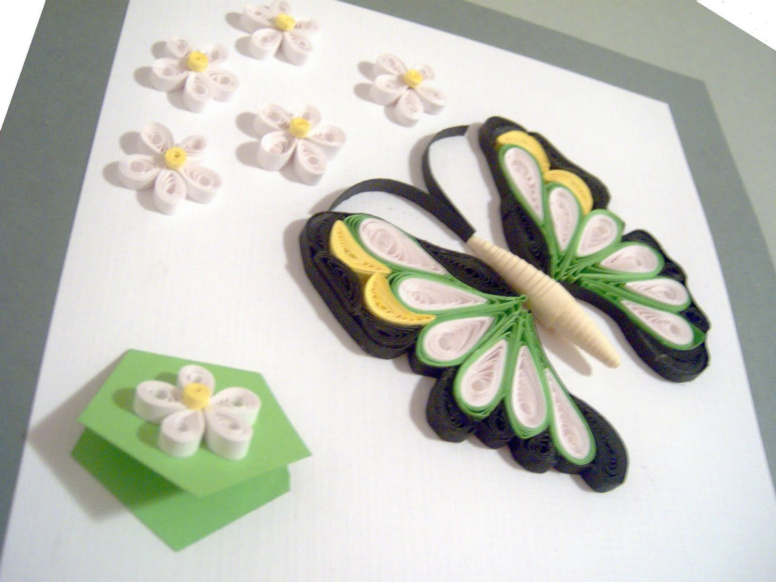 Fluture - quilling
