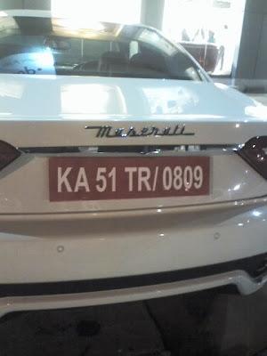 Maserati In India