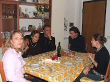 cena con la famiglia di mio marito