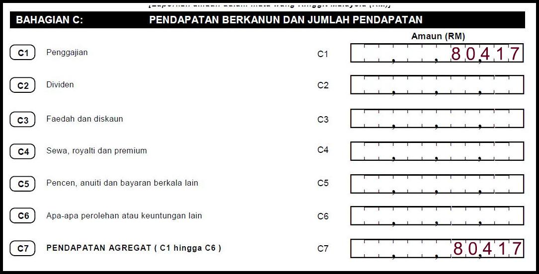 E-FILING LHDN Borang Cukai Pendapatan Untuk 2014