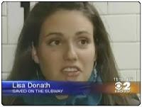 Lisa Donath entrevistada en CBS2 News at 11
