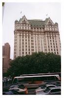El Hotel Plaza, en octubre de 2002