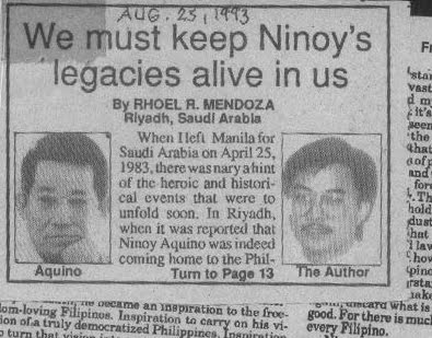 ninoy aquino essay I mentioned ferdinand marcos, benigno (ninoy) aquino and the japanese national character in pulled out drawings and sketches about what most of the time keane essay.