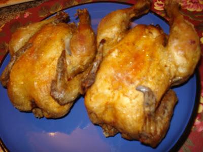 Pat's Deep-Fried Cornish Game Hens Recipe — Dishmaps