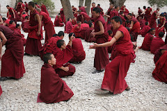 Monks Debate the  Buddist Philosophy