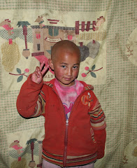 Little Andu at the Dichee Orphange