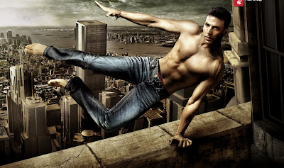 Latest Akshay Kumar Stunts Wallpapers Images Pics Scenes 2011