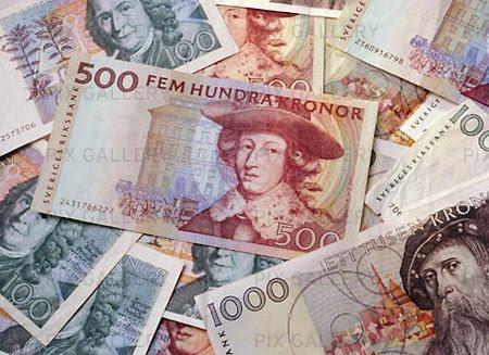 Vart trycks svenska sedlar
