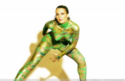 Body Painting Sexy Women