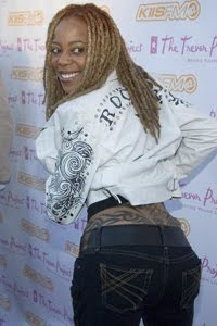 Debra Wilson Tattoos