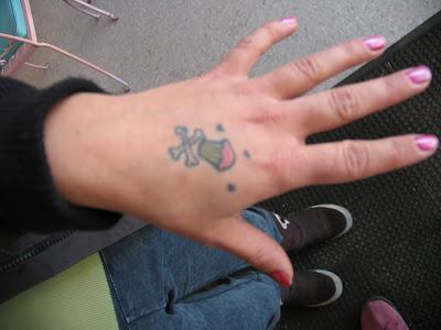 Cute Hand Tattoos