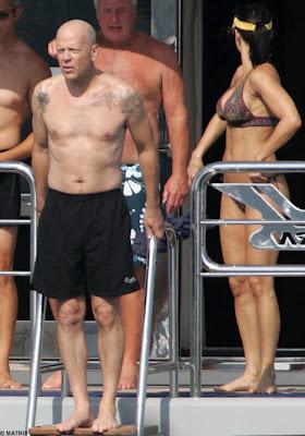 Bruce Willis Tattoos