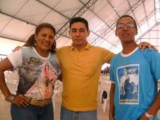 Casal Marisete e Jackson em participação nos eventos da RCC em 2009