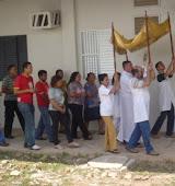 PROCISSÃO DO SANTÍSSIMO SACRAMENTO- CENTRO PASTORAL DIOCESANO-RCC