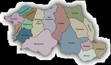 Mapa do Concelho de Cinfães