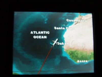 foto meio tremida porque o avião balança, certo?