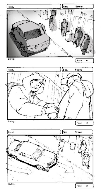 Storyboard for Indie Film Detroit