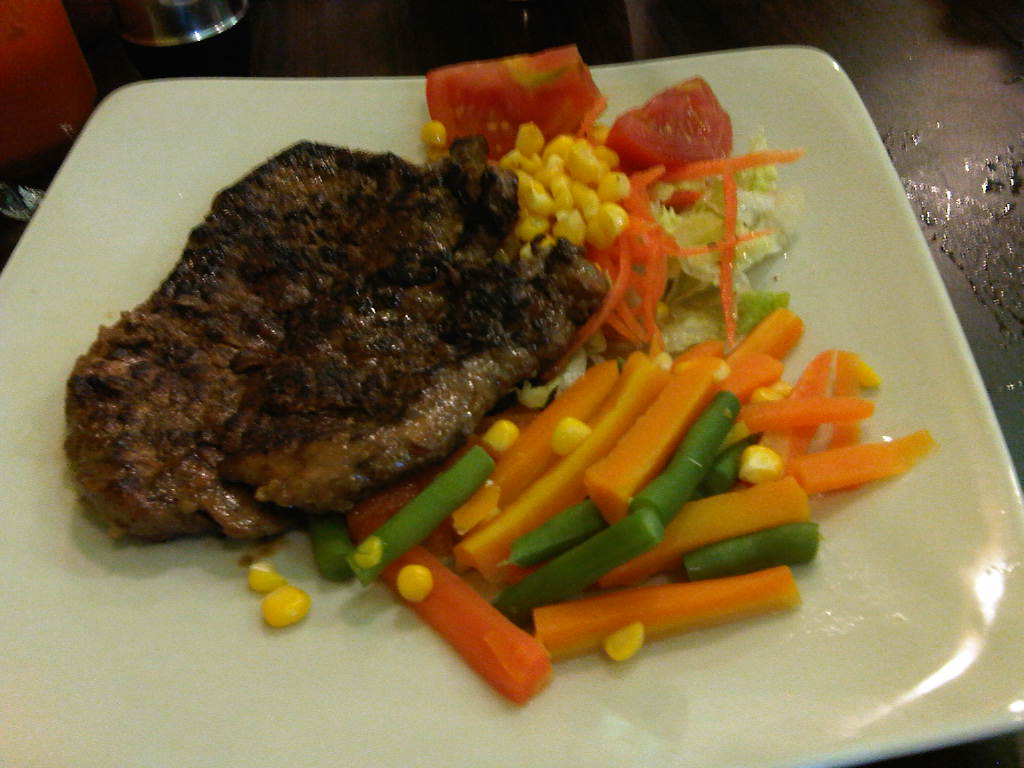 Steak Ayam Saus Mayonise Lemon