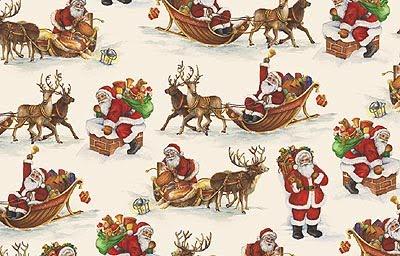 Papel para decoracion pintado y paredes forrado de cajas - Papel de regalo navidad ...