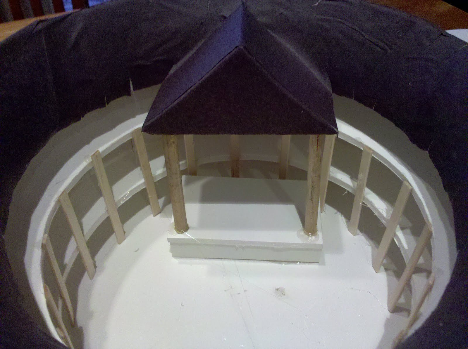 how to build the globe theatre