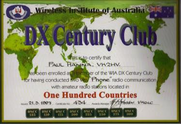 DXCC Award