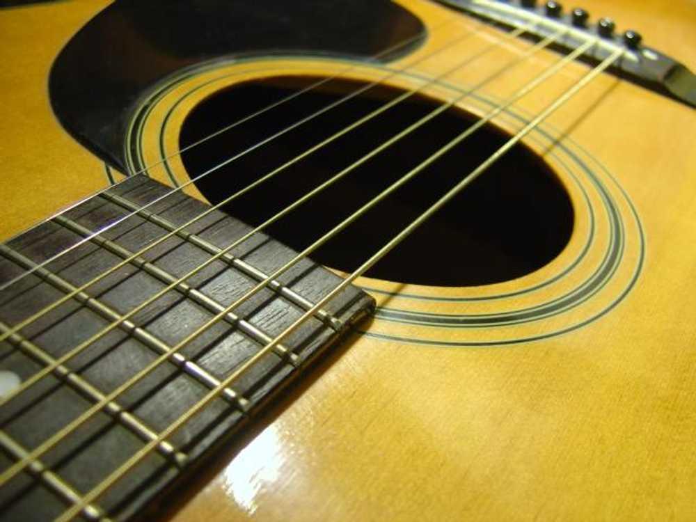 guitar wallpaper acoustic guitar 1000x750 great