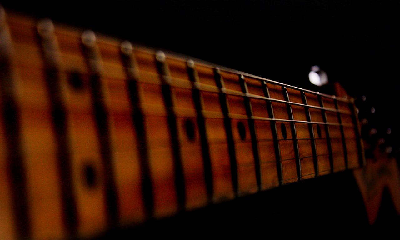 Fender Stratocaster Fingerboard Fretboard Guitar Neck Strings Music Desktop HD Wallpaper 1280x768