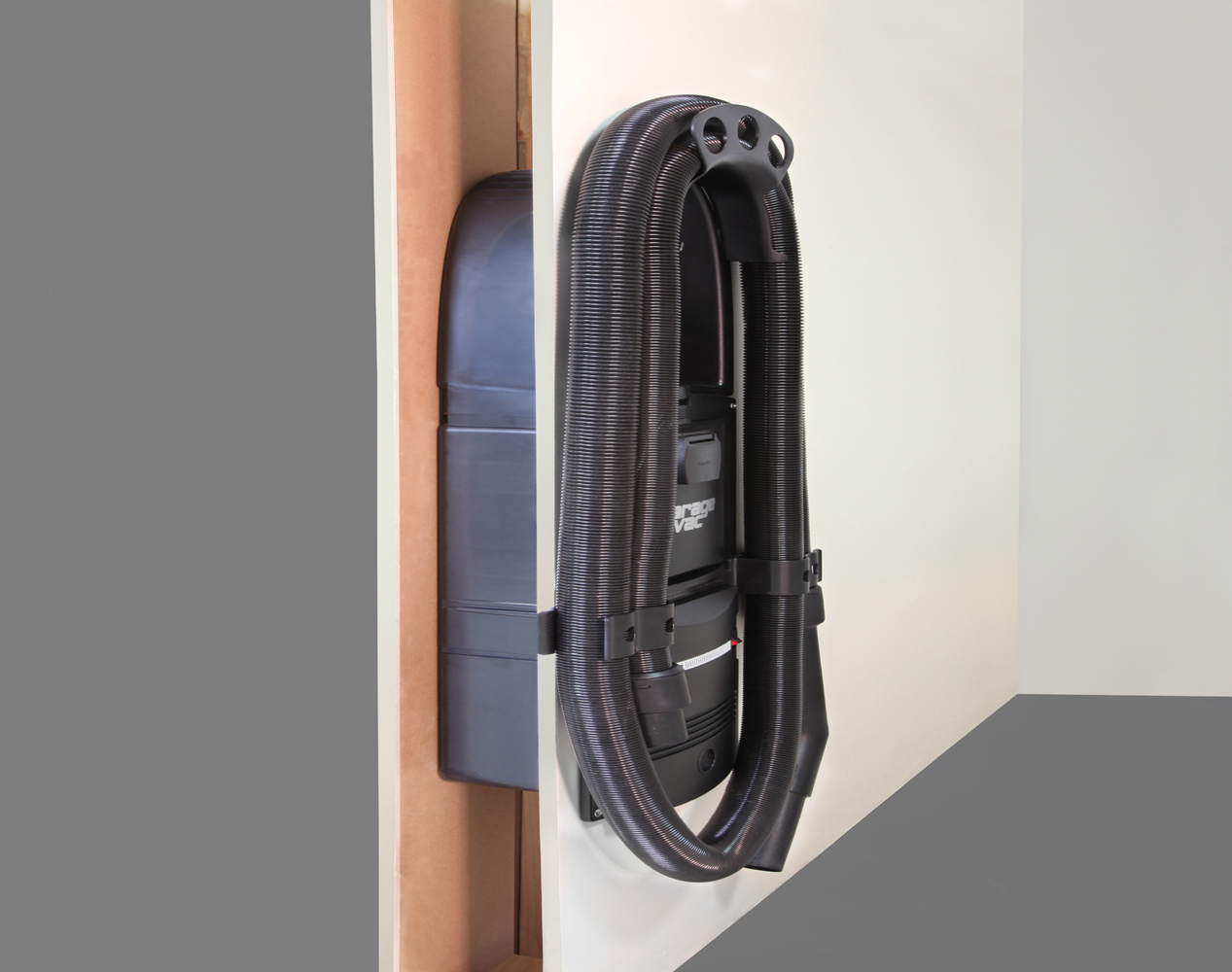 Flush Mount The Garage Vacuum In Your Wall