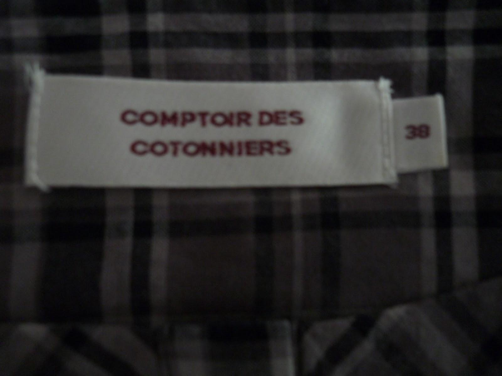 Jo cle vident leur placard haut comptoir des cotonniers - Comment taille comptoir des cotonniers ...