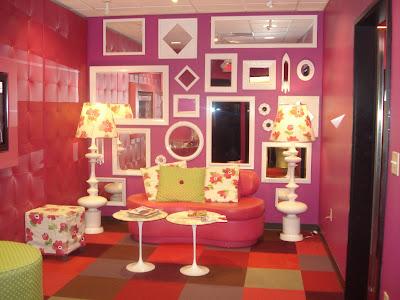 Mariah Carey Relaxing Room Apartment Design - MODERN LIVING ROOM SET