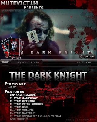 dark nite psp themes