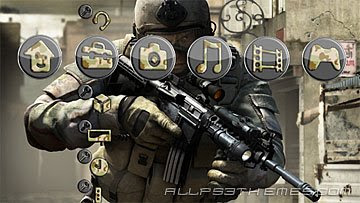 ps3 themes SOCOM Confrontation download ps3 themes