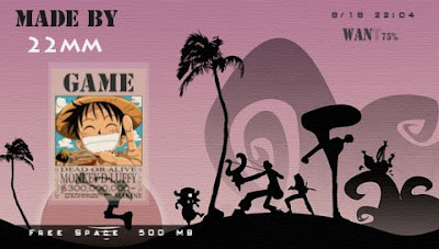 one piece psp themes