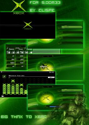 xbox dasboard free psp themes