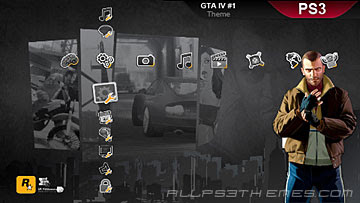 GTA IV ps3 themes