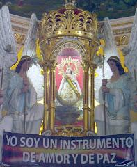 Virgen Maria de Urcupiña Patrona  De la Integración Nacional de Bolivia