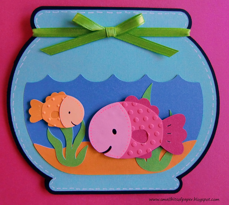 Small bits of paper best fishes throwback thursday for How to make a fish bowl