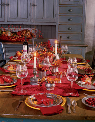 Fine Living Thanksgiving Tablescape