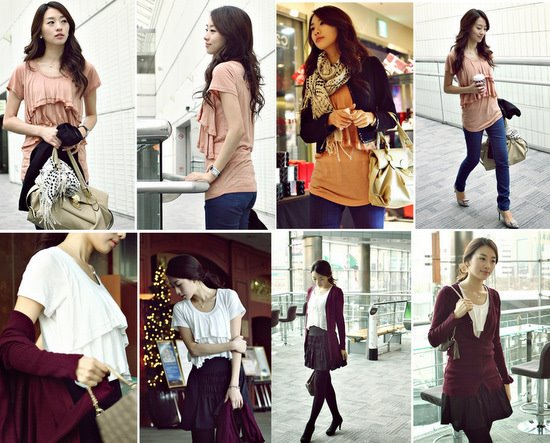 Asian Women Fashion Clothing 2010