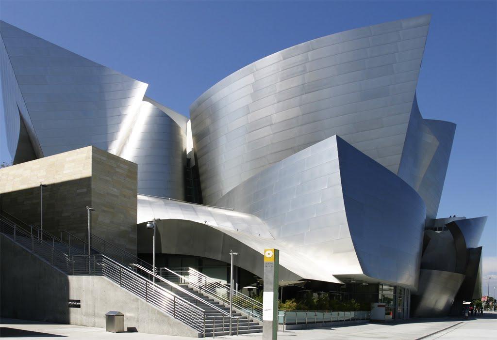 Ecomanta Frank Gehrys Los Angeles Walt Disney Concert Hall
