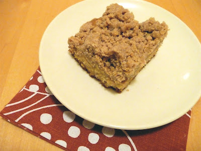 dinner party: big crumb coffee cake