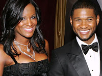 Tameka Foster with Usher