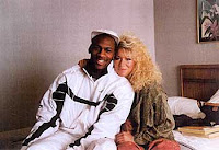 Karla Knafel and Michael Jordan