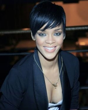 Rihanna cleavage