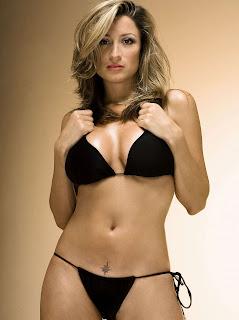 Rebecca Loos bikini photo