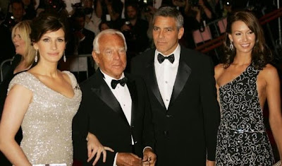 George Clooney, Sarah Larson, Julia Roberts