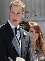 Prince William with Princess Beatrice