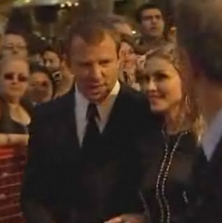 Madonna and Guy Ritchie Rocknrolla premiere