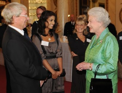 Konnie Huq meets the Queen