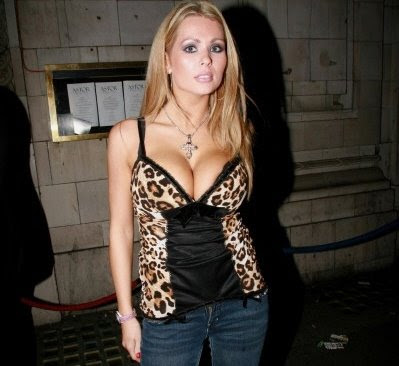 Nicola McLean model I'm A Celebrity